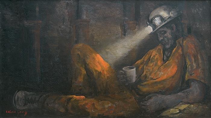 Resting-Miner