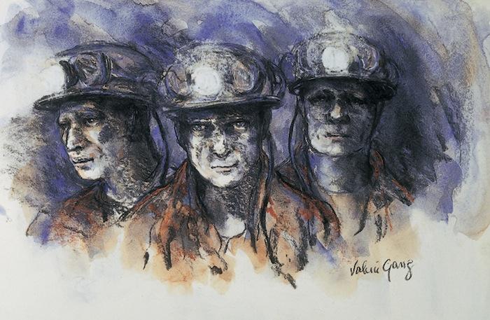 Three Miners