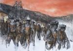 Tower Men Leaving